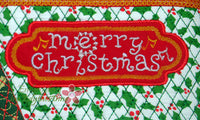 Merry Christmas  and Feliz Navidad Crossbody Bag.2 Sizes. 2 Designs INSTANT DOWNLOAD - Embroidery by EdytheAnne - 2