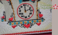VINTAGE  In THE HOOP Embroidered Mug Mat/Mug Rugs.  - Digital File - Instant Download - Embroidery by EdytheAnne - 2
