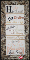 PSALM 91 He Who Dwells...WALL HANGING-  Digital Download