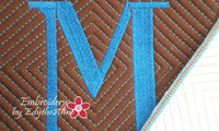 MONOGRAM MUG MATS VERSION 3 - INSTANT DOWNLOAD - Embroidery by EdytheAnne - 3