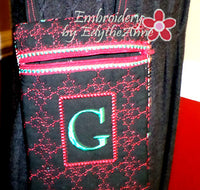 MONOGRAM CROSSBODY BAG - INSTANT DOWNLOAD - Embroidery by EdytheAnne - 4