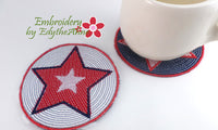 PATRIOTIC COASTER- DIGITAL DOWNLOAD