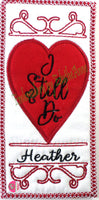 I STILL DO -  In The Hoop Bookmark - Digital Download