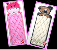 PET BOOKMARKS In The Hoop - Machine Embroidery