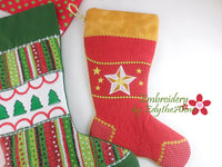 CHRISTMAS STOCKINGS In The Hoop - Set 1 - Digital Download -