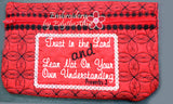 ZIPPERED BAGS Faith Based  Set of two - UPDATED -  INSTANT DOWNLOAD - Embroidery by EdytheAnne - 5