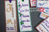 BOOKMARK SET OF SIX FAITH BASED - INSTANT DOWNLOAD - Embroidery by EdytheAnne - 4