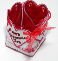 VALENTINE BOX showing finished inside - Machine Embroidery Designs - In the hoop embroidery project - by EdytheAnne - 4