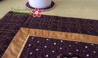 FALL/THANKSGIVING PLACE MAT  In The Hoop -Embroidery by EdytheAnne - 5