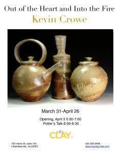 Kevin Crowe Exhibit, March 31 - April 26, 2015