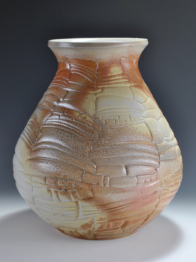 Summer what a relief carved pots with angela gleeson