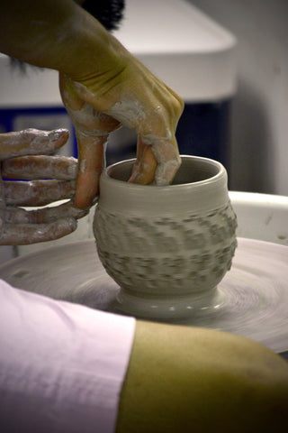 CLOSED—FALL 2019— SESSION 2, Tuesday, UVA Clay Club Wheel, with Julie Madden 6:30-9:00, 6 weeks