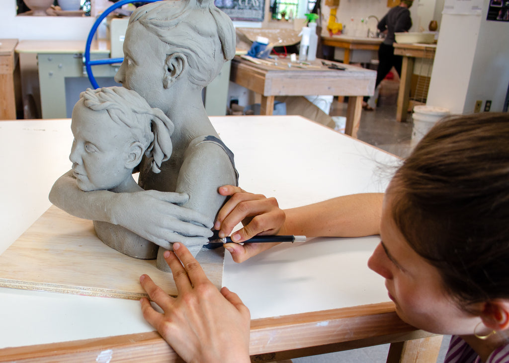 August 2020-  ZOOM Class, Hands and Flowers Sculpture with Sophie Gibson