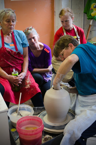 Spring 2020—Special Throwing Projects with Nan Rothwell, Th, 10:00-12:30, 10 weeks