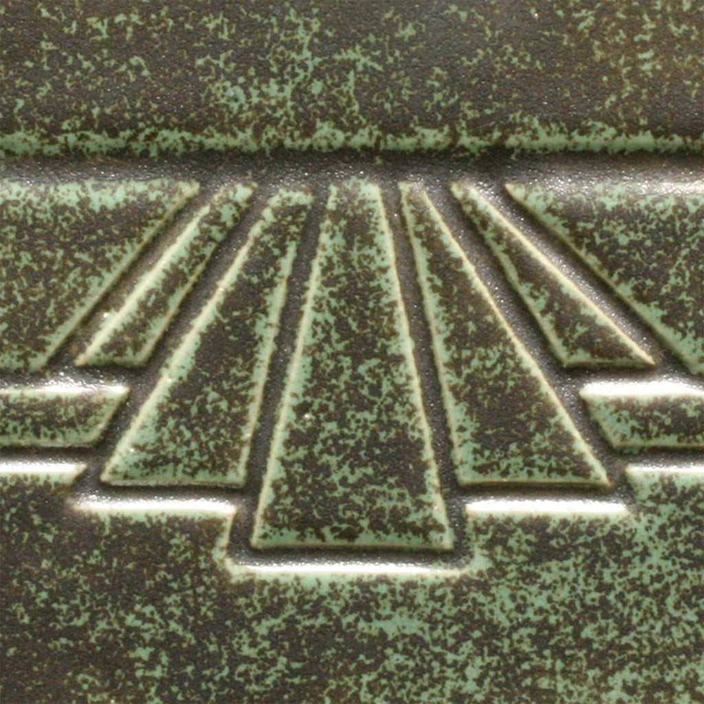 Glaze  Art Deco Green pc 48