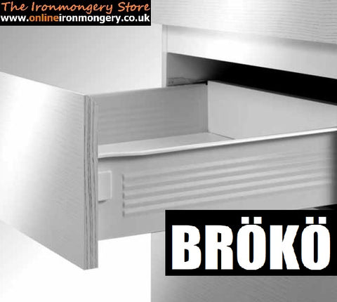 Broko Smart Box System Drawer Sides and Runners