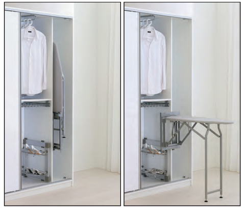 Pull-out Ironing Board System