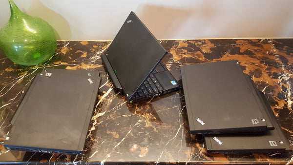 (Bulk Custom Order for Ron H) - 9 Lenovo X201 i7 and 6 Dell e6220 i5, 128gb SSD, 4gig ram