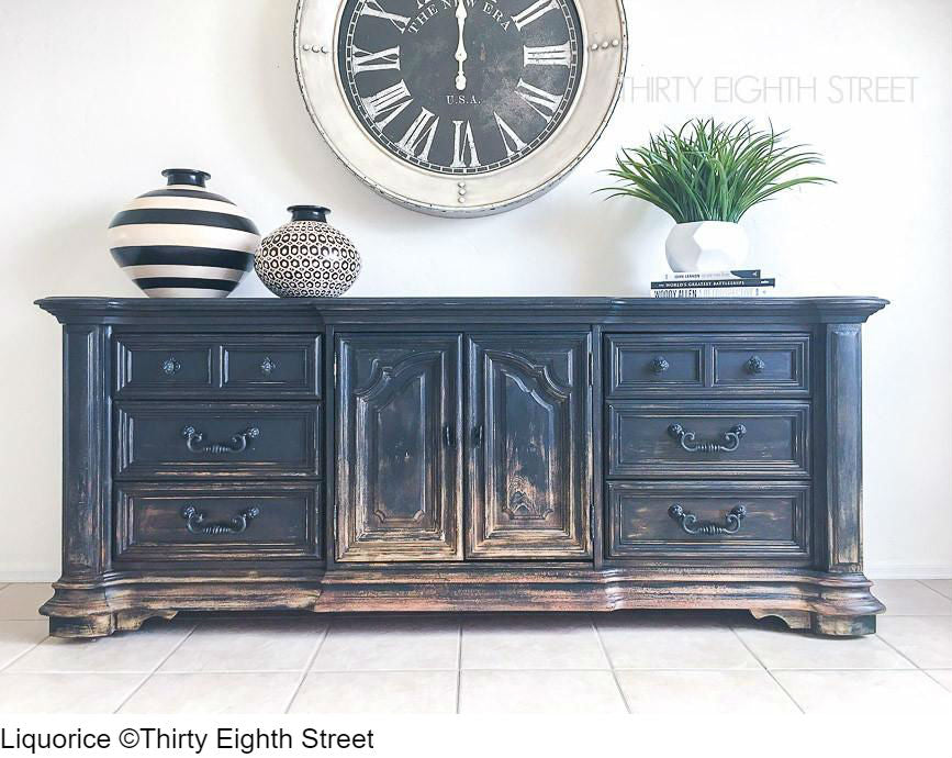 Painted dresser with Country Chic Paint