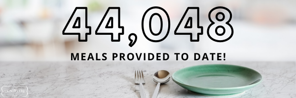 44,048 meals provided to date by Country Chic Paint donations to Food Banks Canada and Feeding America
