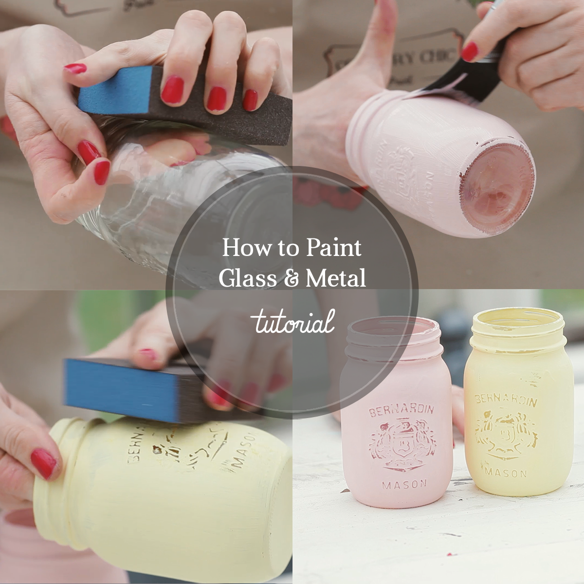 Tutorials country chic paint for How to prepare metal for painting