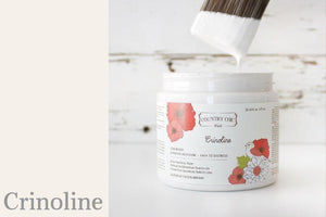 Crinoline Chalk Style All-In-One Paint from Country Chic Paint - DIY eco friendly home decor paint