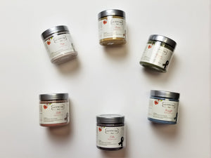 Paint for a Cure collection from Country Chic Paint - eco-friendly, VOC free, clay-based All-in-One Decor Paint for furniture restorations and home decor DIY projects