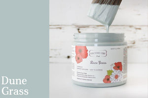 Dune Grass Chalk Style All-In-One Paint from Country Chic Paint - DIY eco friendly home decor paint
