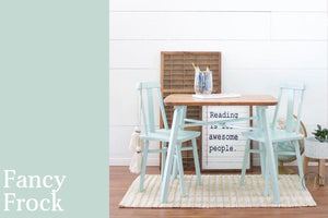 Fancy Frock Chalk Style All-In-One Paint from Country Chic Paint - DIY eco friendly home decor paint