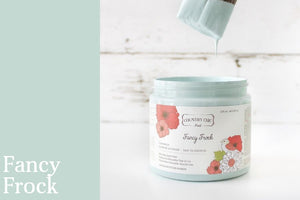 Fancy Frock Furniture Paint - All-in-One Decor Paint from Country Chic Paint - DIY eco friendly home decor paint