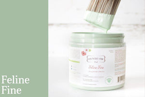 Feline Fine Chalk Style All-In-One Paint - Spring/Summer Limited Edition Colors 2019 - Country Chic Paint - Furry Friends Collection - Donate to support pets and animal welfare across North America