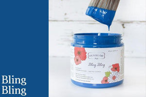 Bling Bling Chalk Style All-In-One Paint from Country Chic Paint - DIY eco friendly home decor paint