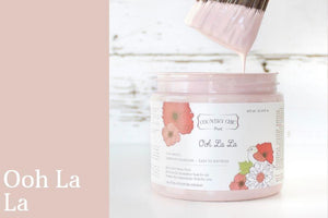 Ooh La La Chalk Style All-In-One Paint from Country Chic Paint - DIY eco friendly home decor paint