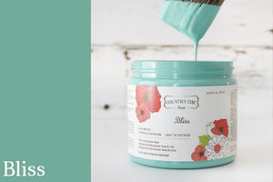 Bliss Chalk Style All-In-One Paint from Country Chic Paint - DIY eco friendly home decor paint