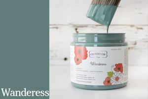 Wanderess Chalk Style All-In-One Paint from Country Chic Paint - DIY eco friendly home decor paint