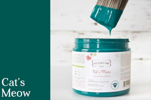 Cat's Meow Chalk Style All-In-One Paint - Spring/Summer Limited Edition Colors 2019 - Country Chic Paint - Furry Friends Collection - Donate to support pets and animal welfare across North America