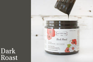 Dark Roast Furniture Paint - All-in-One Decor Paint from Country Chic Paint