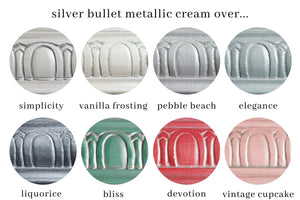 Metallic Cream | Silver Bullet