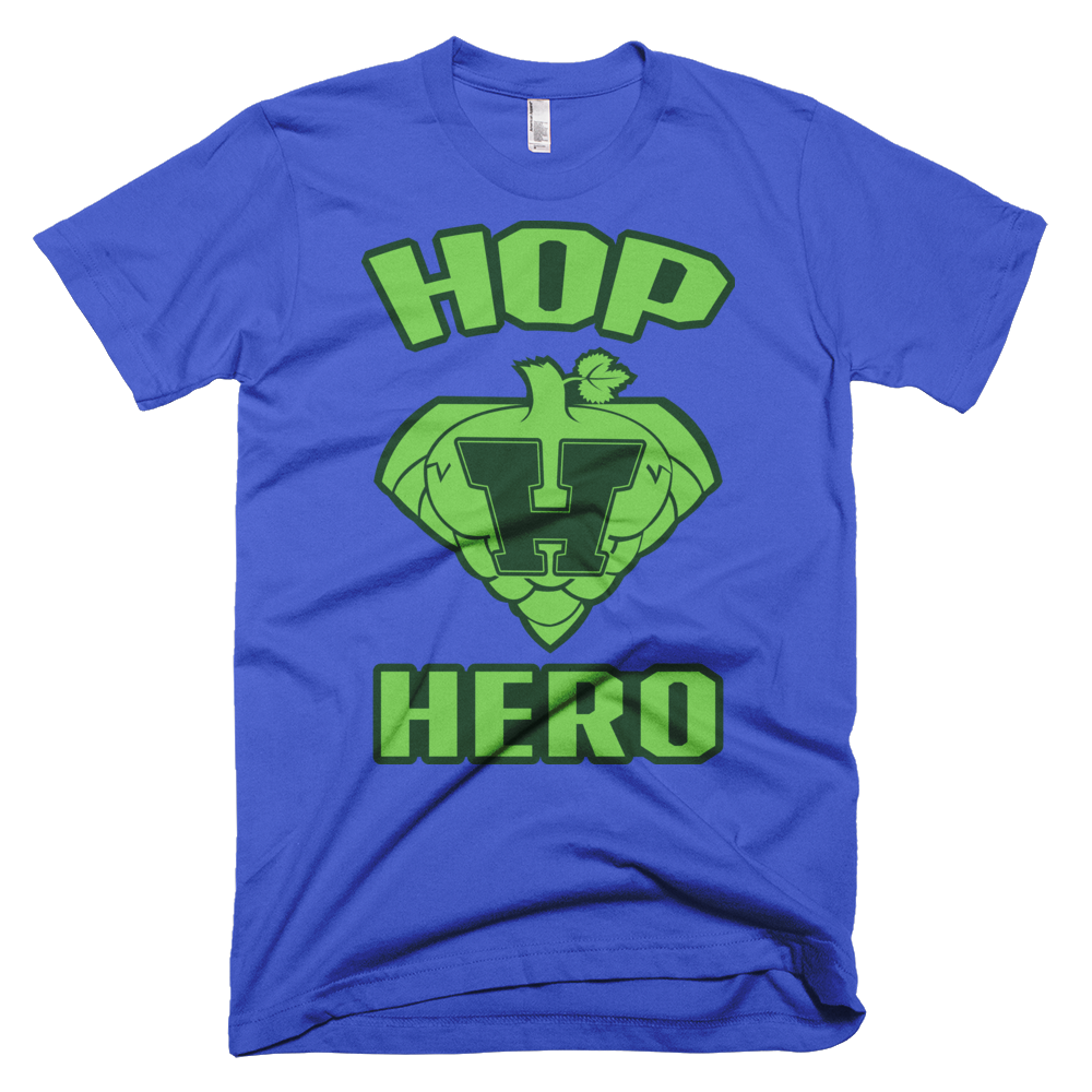 Hop Hero - Short Sleeve Men's T-Shirt