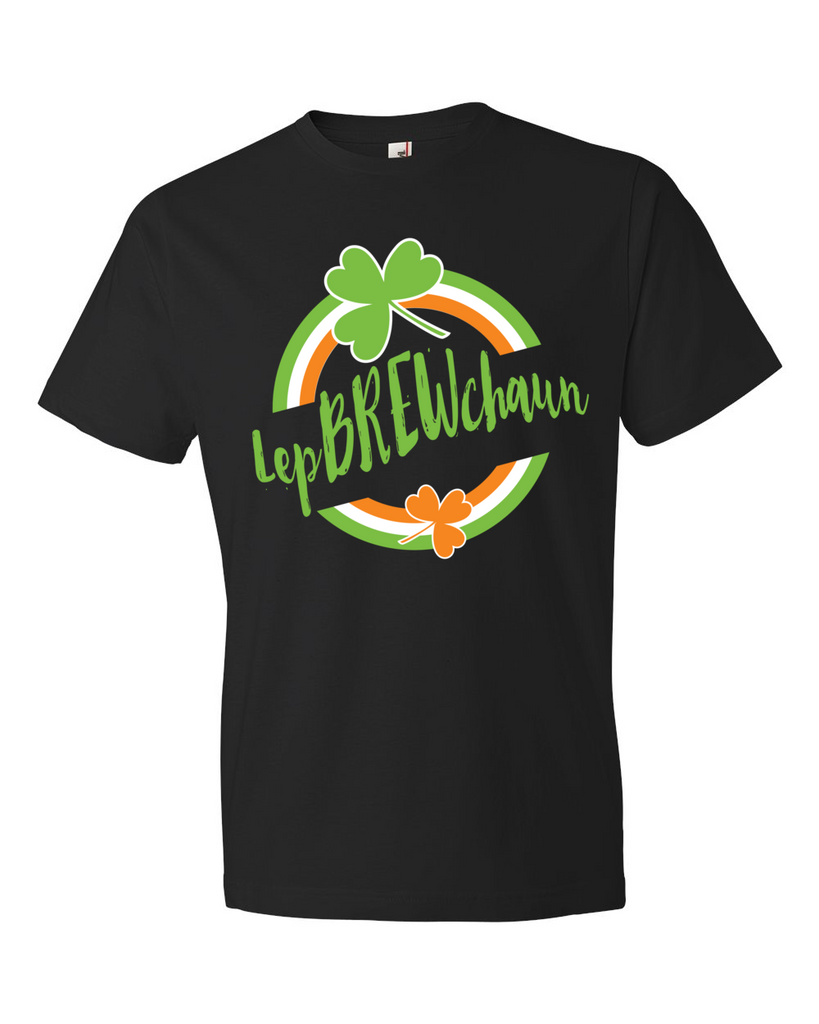 Black LepBREWchaun T-Shirt