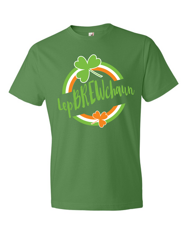 Green LepBREWchaun T-Shirt