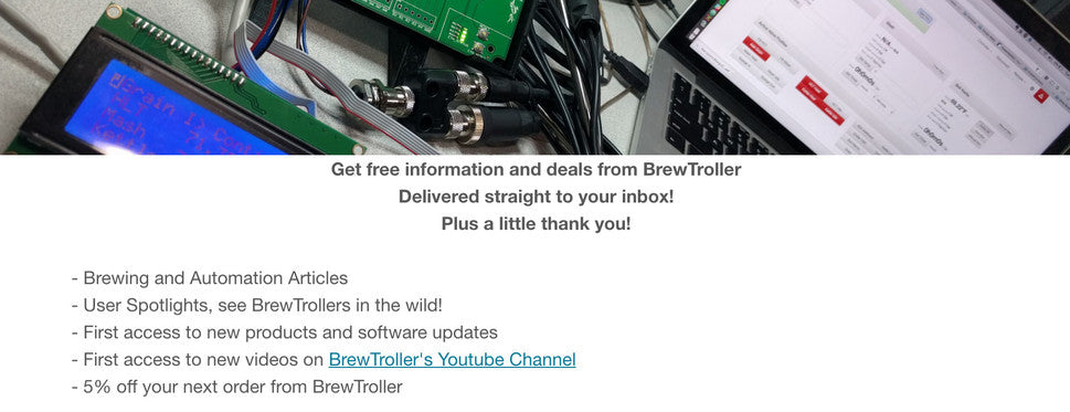 BrewTroller Newsletter Signup