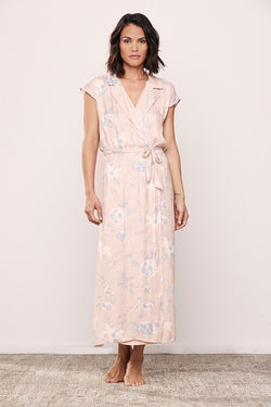 Floral Resort Wrap Dress