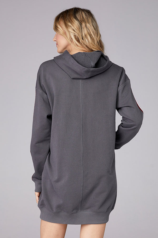 Structured Hooded Dress