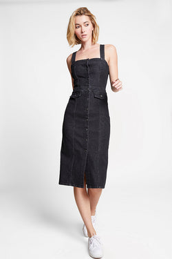 Sophie Front Button Jean Dress