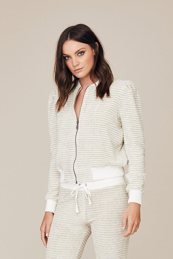Stripe Terry Vanessa Jacket