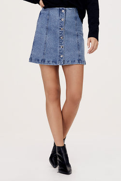 Piper Denim Mini Skirt