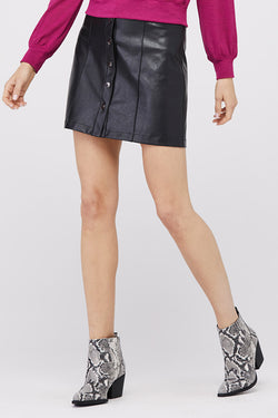 Piper A-Line Front Snap Skirt