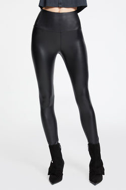 Elliot High Waist Legging in Vegan Leather