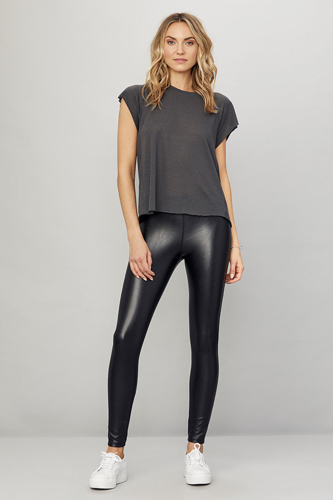Vegan Leather Barlow Leggings